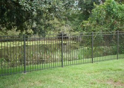 5 Carolina in Bronze - Aluminum fence - Fence It orgcwb20190805