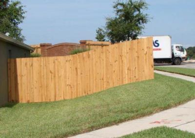 6' Board-on-Board -wood fence - Fence It orgcwb20190805 1