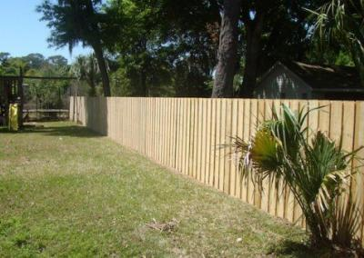 6' Board-on-Board -wood fence - Fence It orgcwb20190805 11