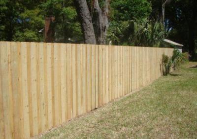 6' Board-on-Board -wood fence - Fence It orgcwb20190805 12