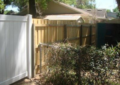 6' Board-on-Board -wood fence - Fence It orgcwb20190805 13
