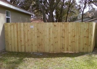 6' Board-on-Board -wood fence - Fence It orgcwb20190805 19