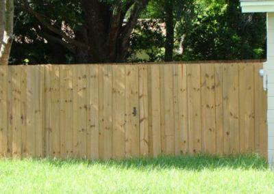 6' Board-on-Board -wood fence - Fence It orgcwb20190805