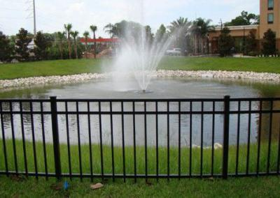 Apopka-Gateway Plaza Apopka, FL - Aluminum fence - Fence It orgcwb20190805 1
