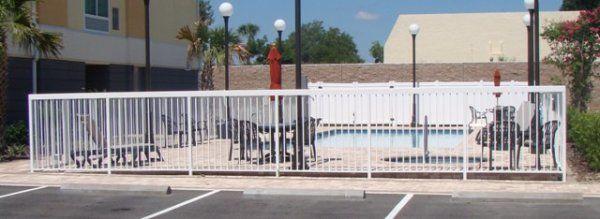 Best Western Leesburg, FL - Aluminum fence - Fence It orgcwb20190805