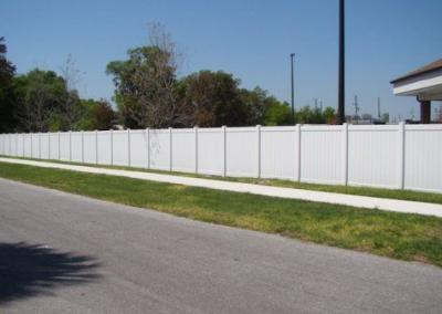 Center State Bank Leesburg, FL - Vinyl Fence - Fence It - orgcw20190805