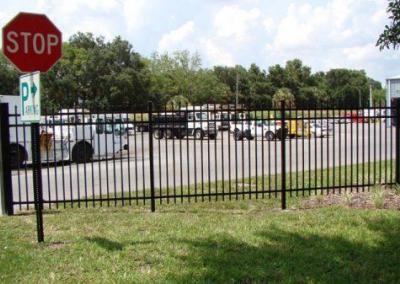 City of Leesburg Public Work - Aluminum fence - Fence It orgcwb20190805