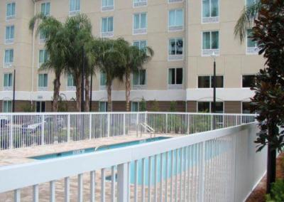 Holiday Inn Express Apopka, FL - Aluminum fence - Fence It orgcwb20190805 1