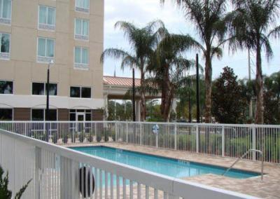 Holiday Inn Express Apopka, FL - Aluminum fence - Fence It orgcwb20190805 2