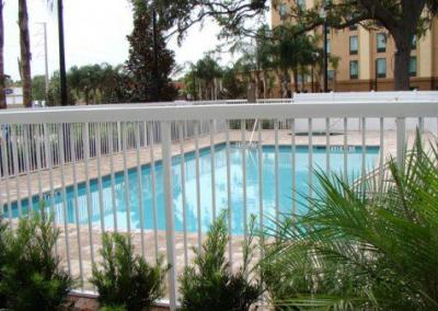 Holiday Inn Express Apopka, FL - Aluminum fence - Fence It orgcwb20190805 3