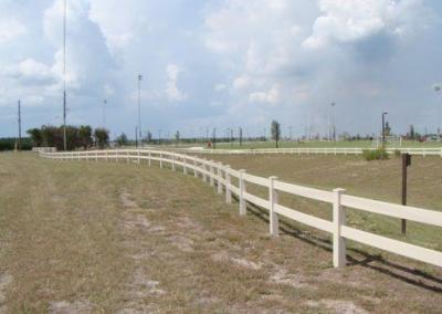 North Lake Park Umatilla, FL - Vinyl Fence - Fence It - orgcw20190805 1