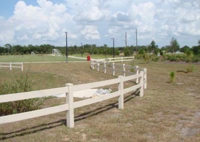 North Lake Park Umatilla, FL - Vinyl Fence - Fence It - orgcw20190805 2
