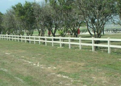 North Lake Park Umatilla, FL - Vinyl Fence - Fence It - orgcw20190805 3