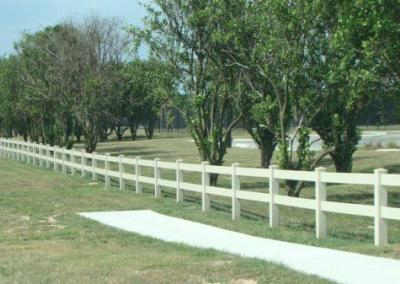 North Lake Park Umatilla, FL - Vinyl Fence - Fence It - orgcw20190805 4