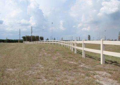 North Lake Park Umatilla, FL - Vinyl Fence - Fence It - orgcw20190805