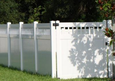 Stake accent - Vinyl Fence - Fence It - orgcw20190805