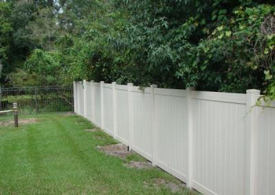 Tongue and Groove Tan - Vinyl Fence - Fence It - orgcw20190805