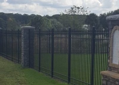 Residential Aluminum Fence Summerfield