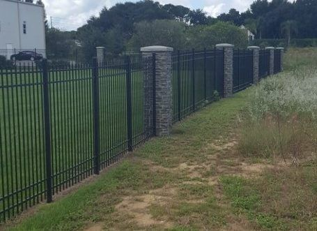 aluminum fencing by Fence-It